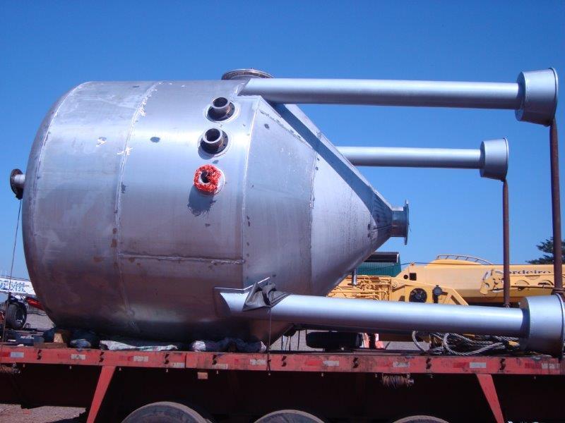 Fabrica de tanques de inox