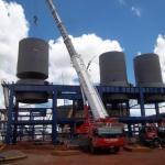 Caldeiraria de fabricação e montagem industrial